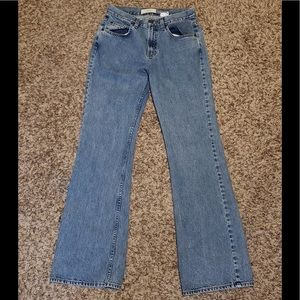 Gap Light Wash Flare Denim Blue Jeans Size 4 Reg